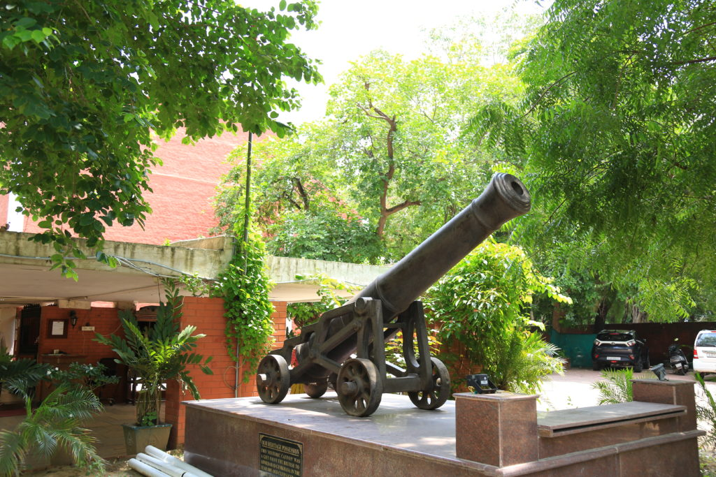 Iconic Cannon at Ahmedabad Gymkhana