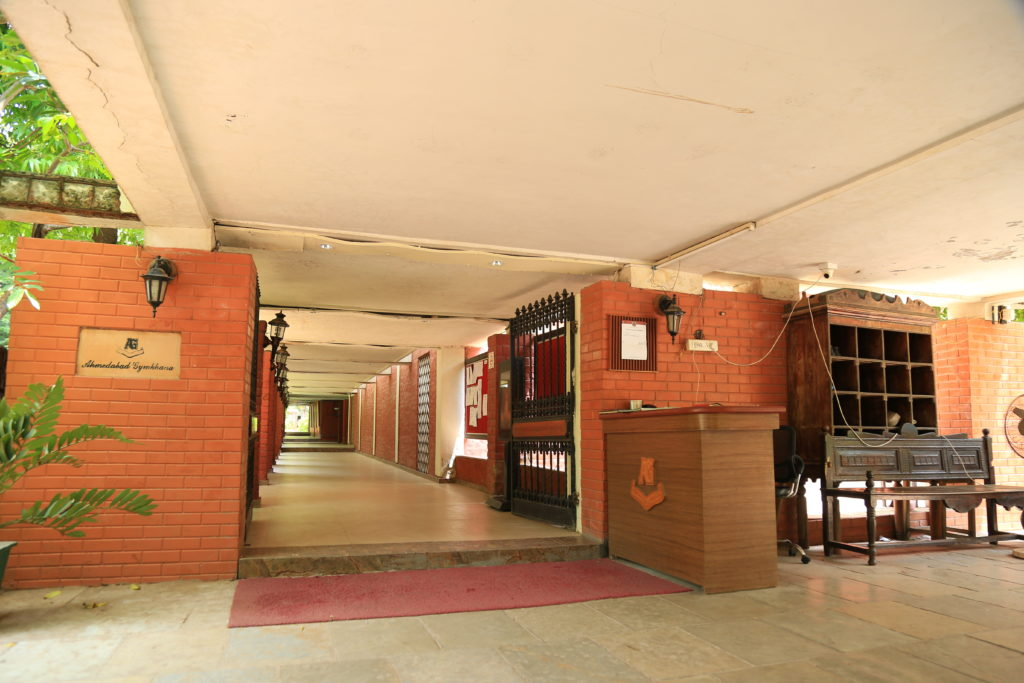 Entry at Ahmedabad Gymkhana