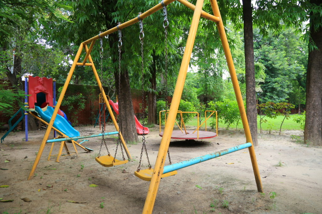 Children's Play Area at Ahmedabad Gymkhana