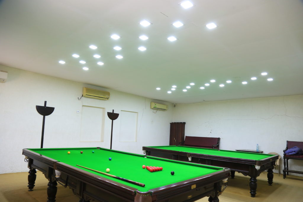 Billiards Room at Ahmedabad Gymkhana